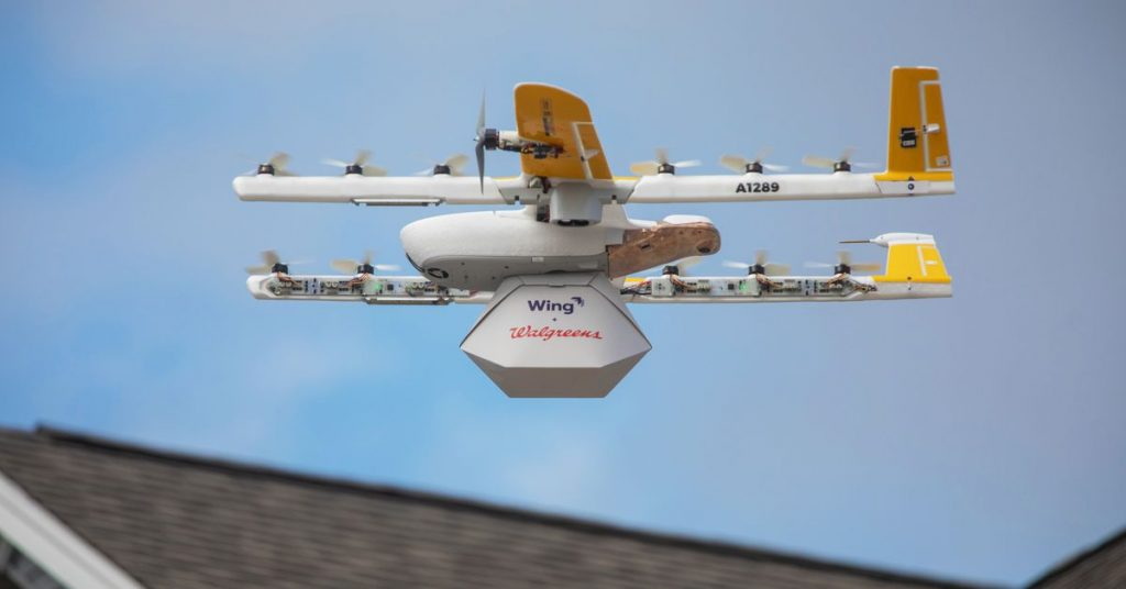 Alphabet's nascent drone delivery provider is booming