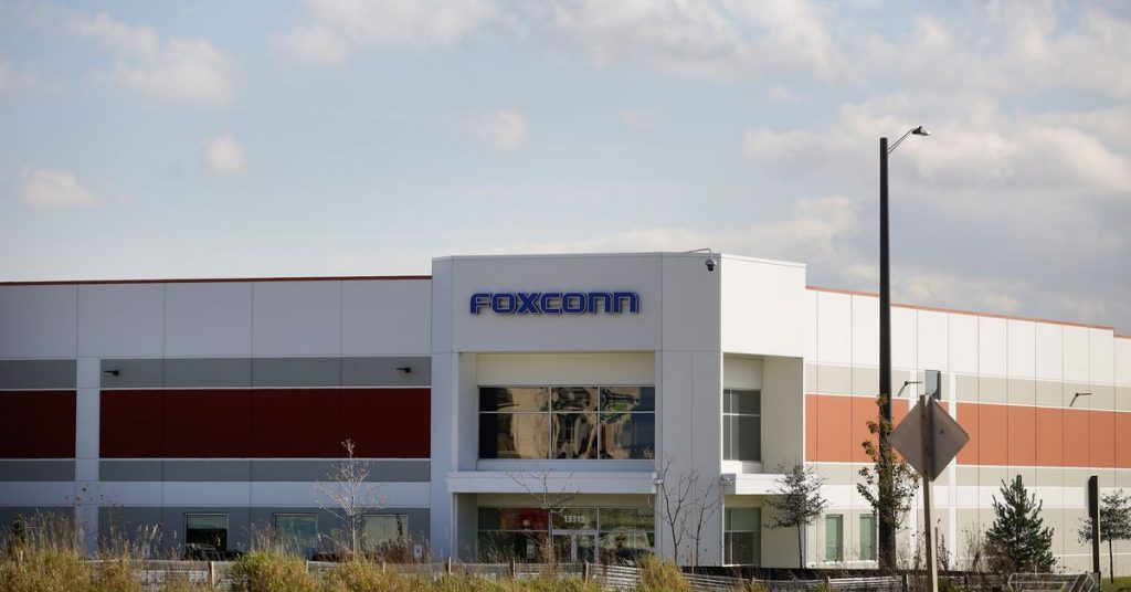 Foxconn will produce ventilators at its controversial Wisconsin plant