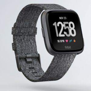 My current favorite wearable is the Versa. It is a decent watch, has continuous HR tracking, and is small enough that I'm willing to wear it overnight. Battery life is also excellent.