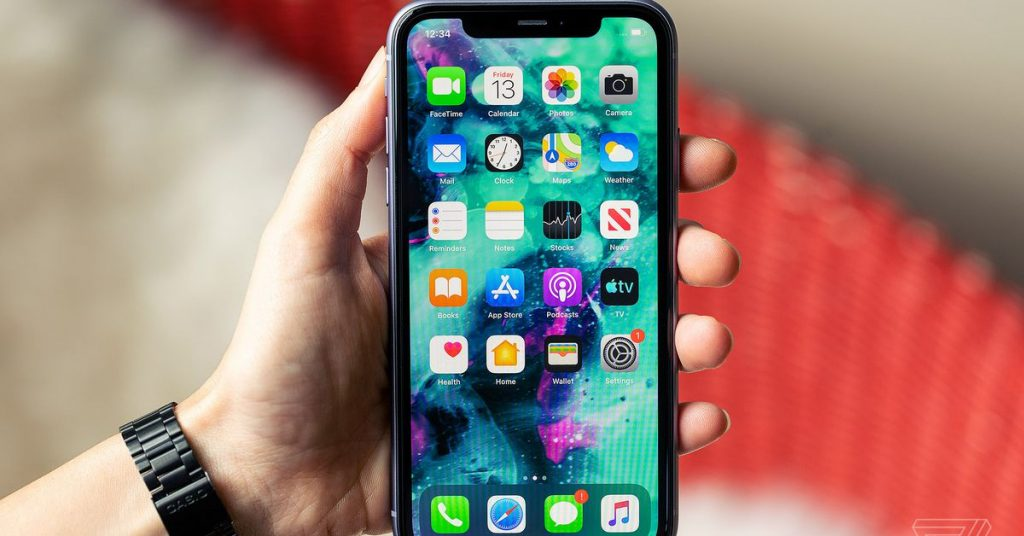how to report your screen on an iPhone