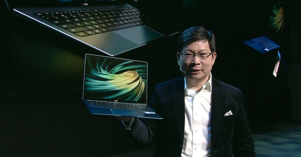 Huawei's new MateBook X Pro comes in green colour possibility and Intel's contemporary chips