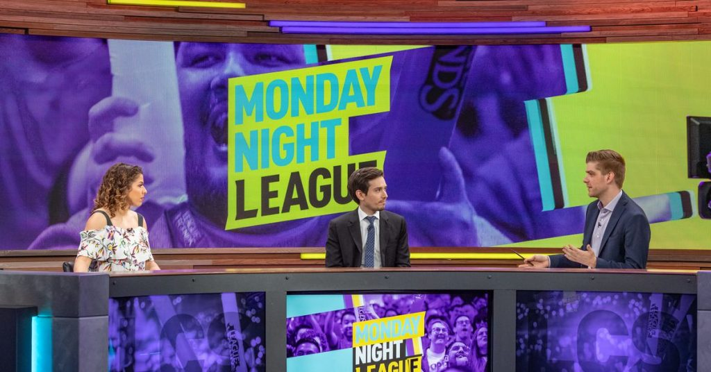 Insurrection is trying to make Monday Night Time Football paintings for League of Legends