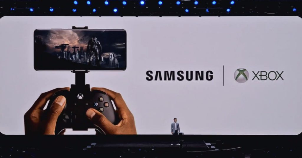 Microsoft and Samsung partner on Xbox cloud-based sport streaming