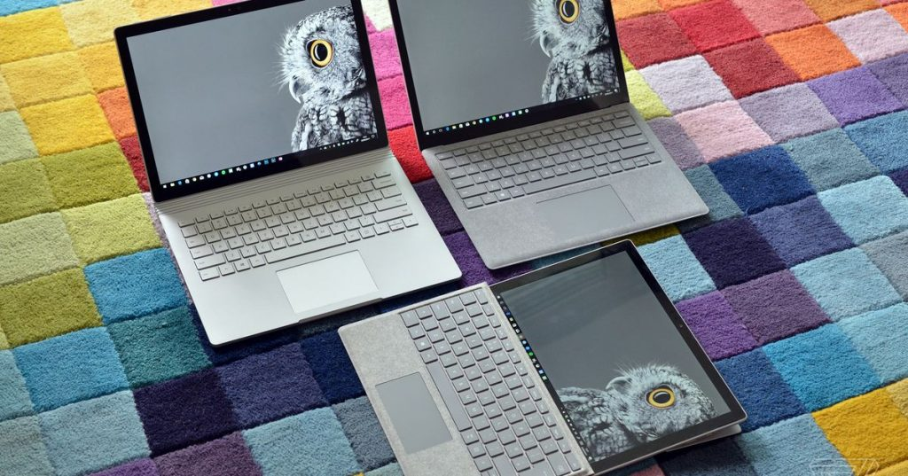 Microsoft prepares to launch Floor E-Book 3 and Surface Move 2