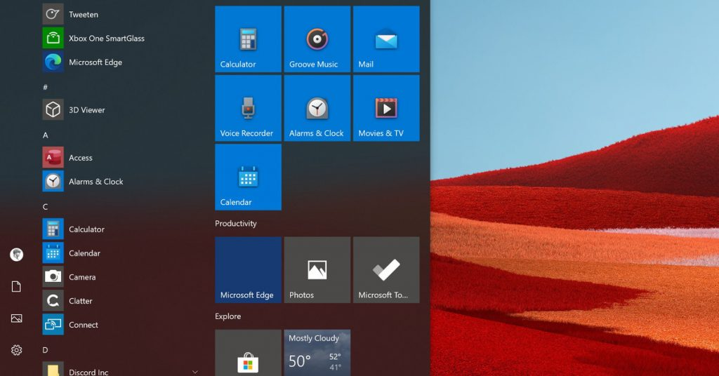 Microsoft rolls out colorful new Home Windows 10 icons