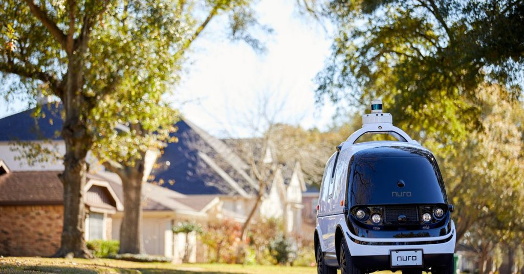 Nuro will get the green light to test driverless supply robots in California