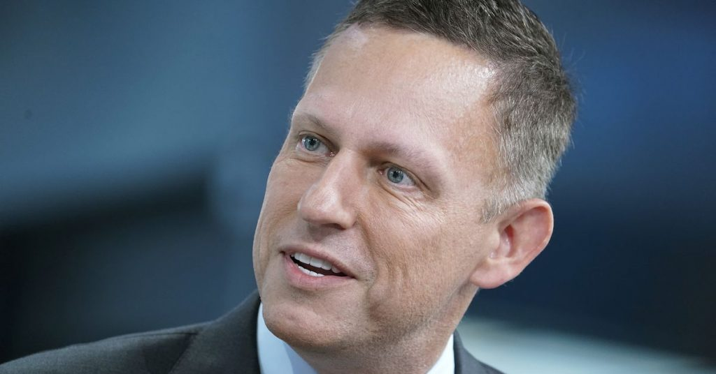 Peter Thiel's arguable Palantir is helping build a coronavirus tracking instrument for the Trump admin