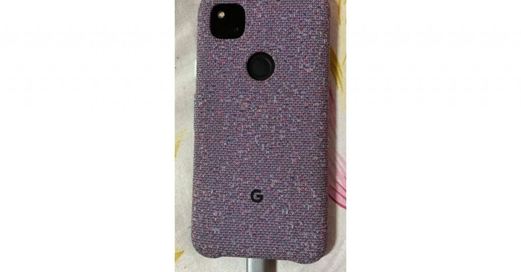 Photographs of the Pixel 4A in a material case may have leaked