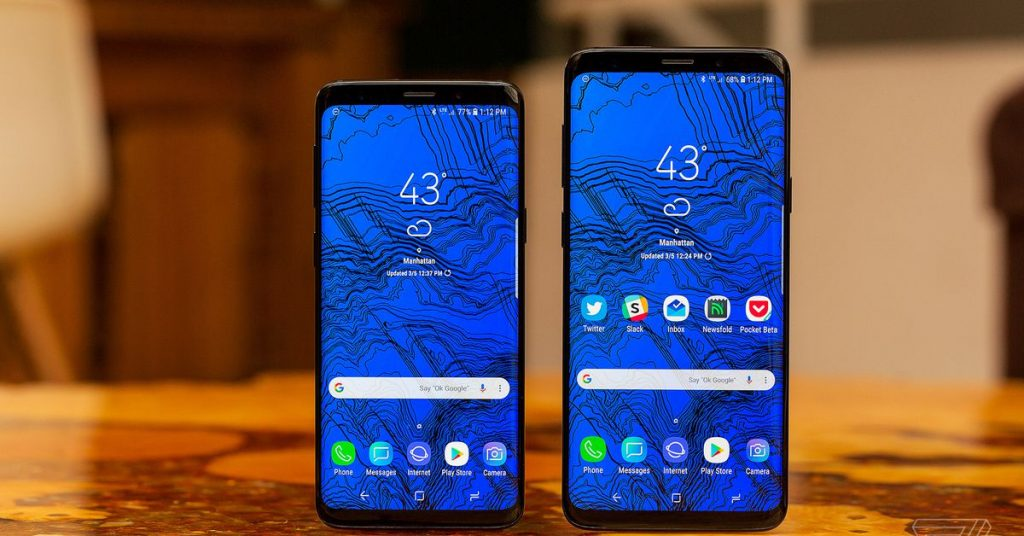 Samsung Galaxy S9 telephones are beginning to get Android 10
