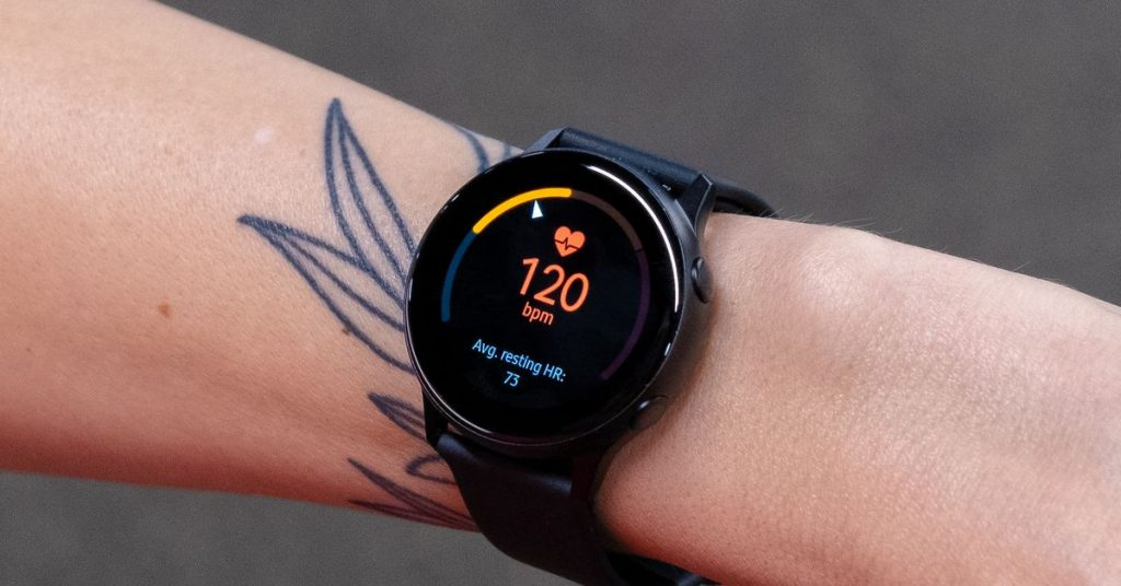 Samsung's Galaxy Energetic smartwatch is go into reverse to $A HUNDRED AND FIFTY, its lowest worth