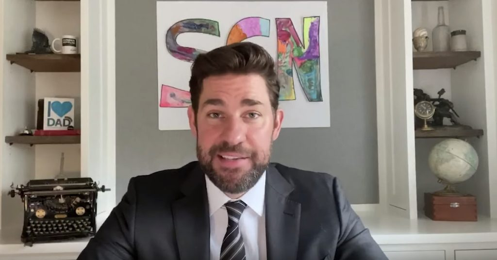 The Place Of Job's John Krasinski launched a YouTube channel dedicated to excellent news
