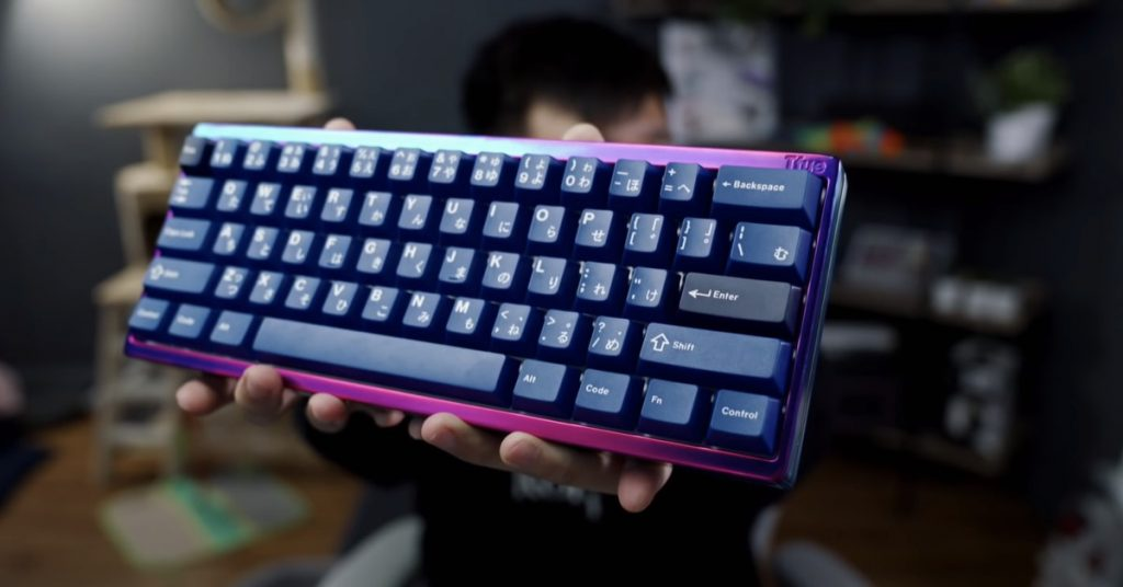 The Twitch streamer at the back of Tfue's customized $3,500 mechanical keyboard