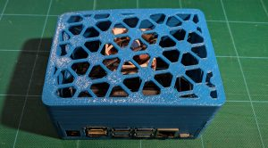 fully-assembled nano-based nvr with homebrew 3D-printed case