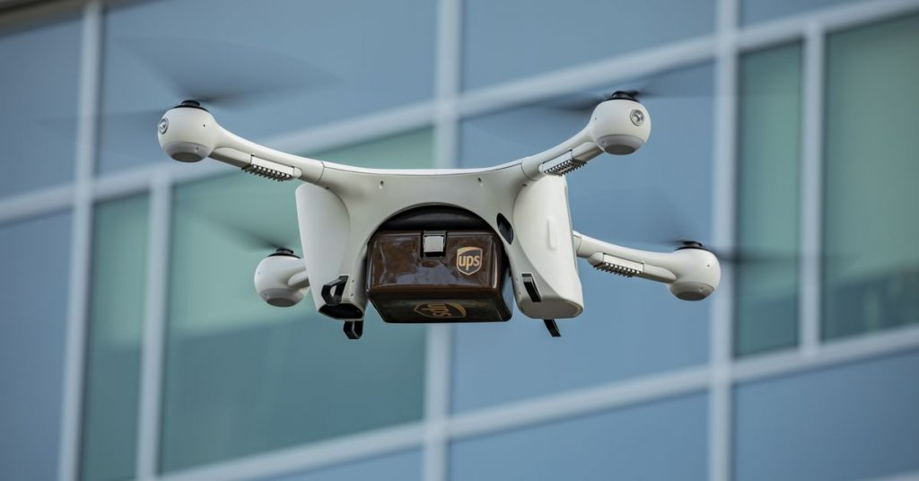 UPS and CVS will use drones to ship prescriptions in Florida