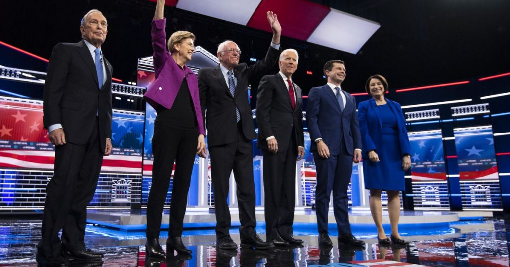 Which Microsoft Office product is each Democratic presidential candidate?