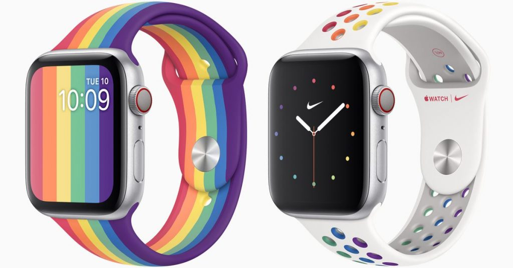 Apple celebrates Pleasure with new Apple Watch bands and watchfaces