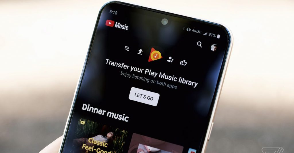 Check In for early access to transfer songs to YouTube Track