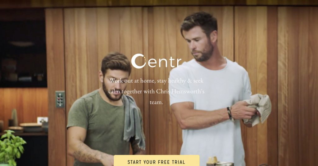 Chris Hemsworth's exercise app has been sudden people with $99 subscription charges