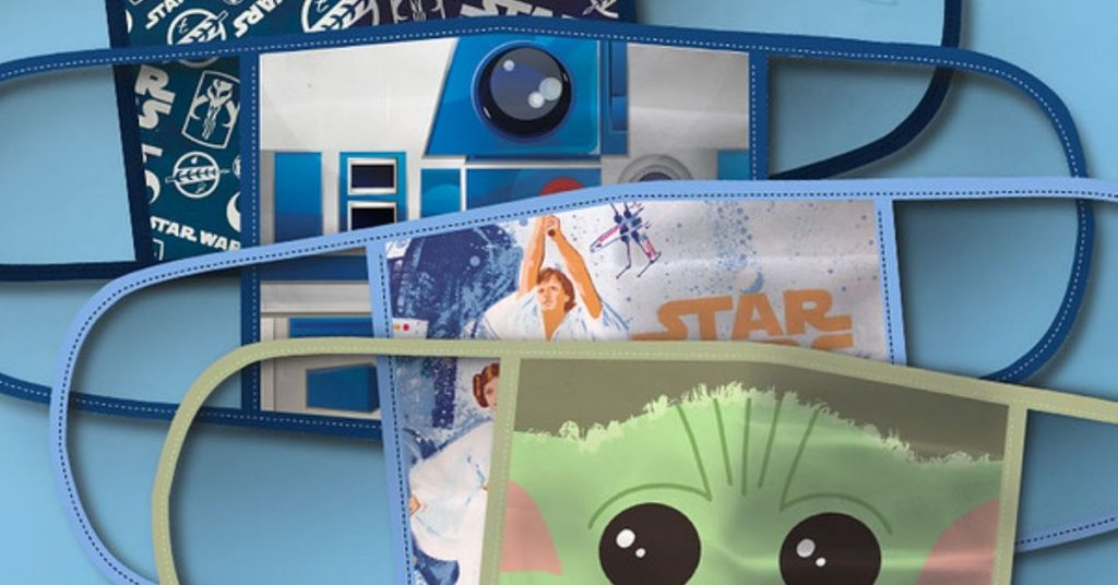 Disney to donate $1 million from gross sales of its character-themed face masks to charity