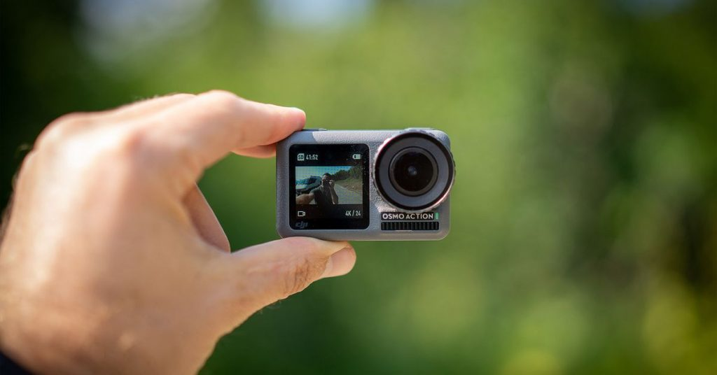 DJI's Osmo Motion camera is almost part off at Amazon