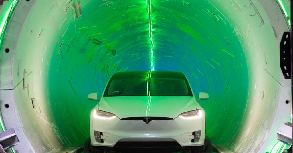 Elon Musk's Boring Corporate finishes digging Las Vegas tunnels