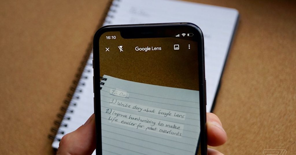 Google Lens can now replica and paste handwritten notes for your computer