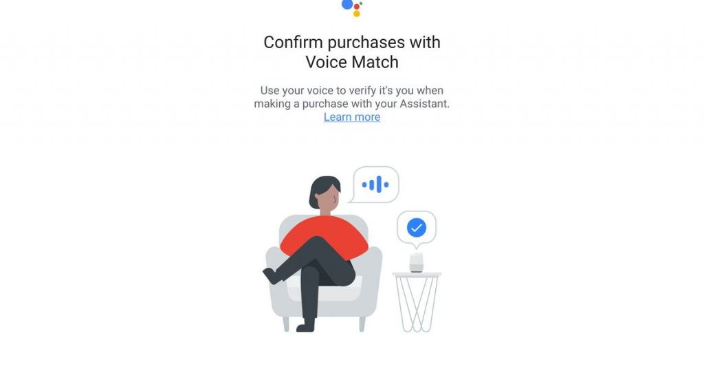 Google tests voice matching to safe Google Assistant purchases