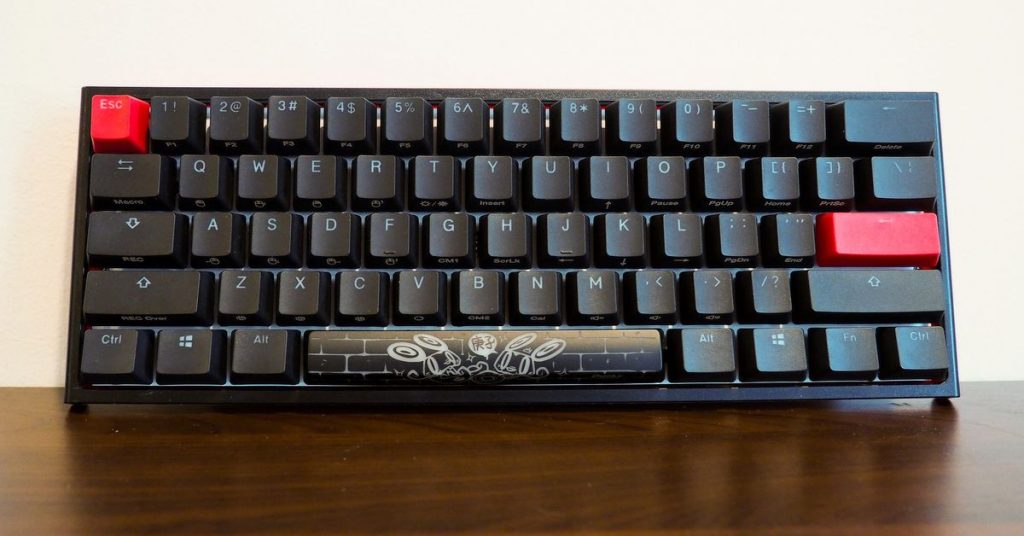 HyperX and Ducky collaborated on a restricted edition version of the only 2 Mini keyboard