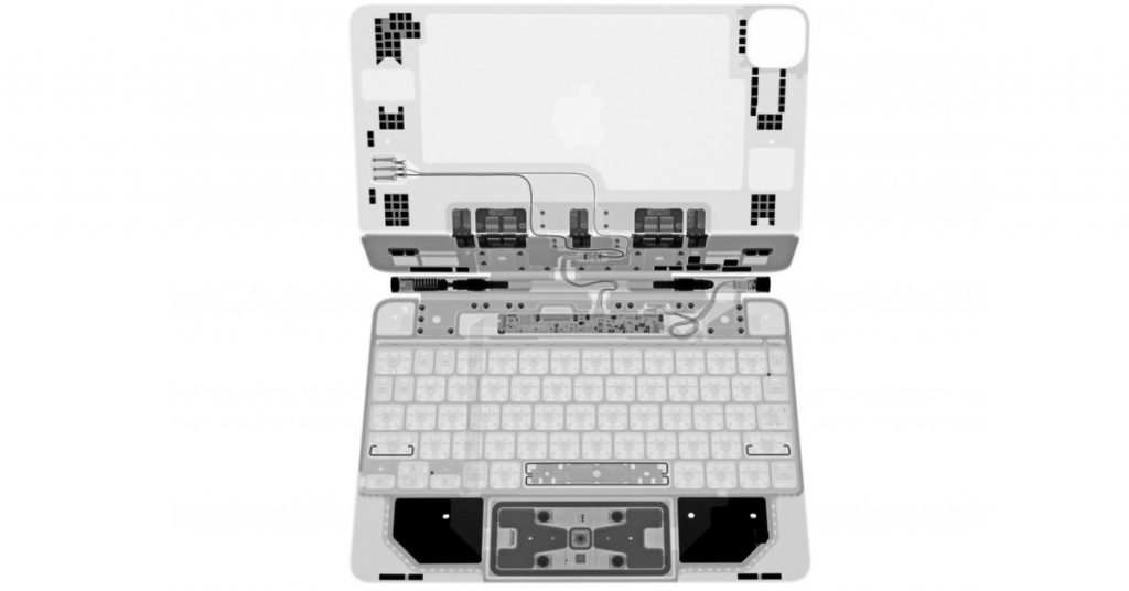 iFixit's Magic Keyboard X-rays make sure the dying of the butterfly keyboard switches