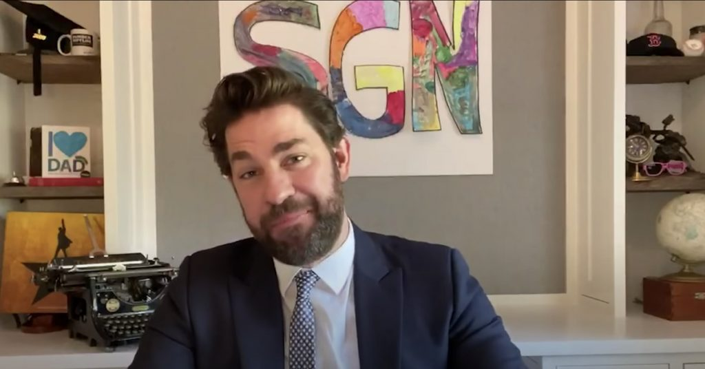 John Krasinski's adorable YouTube series 'A Few Excellent News' is moving to CBS All Access