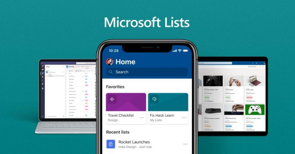 Microsoft Lists is a brand new app designed for Groups, SharePoint, and Outlook