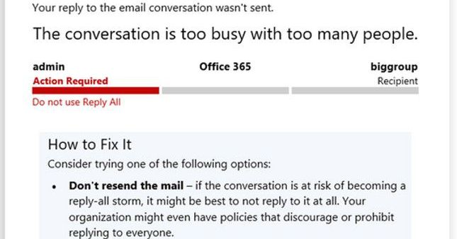 Microsoft now blocks answer-all e-mail storms to finish our inbox nightmares