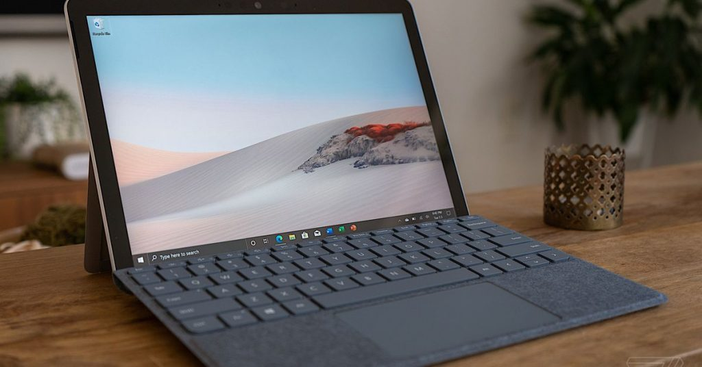Microsoft's new Surface Pass 2 has a larger show and higher Intel processor