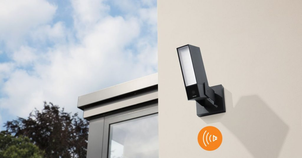 Netatmo made a brand new out of doors digital camera with a siren to scare off intruders