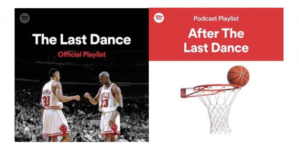 Netflix and ESPN staff up with Spotify to curate podcasts round their Michael Jordan documentary