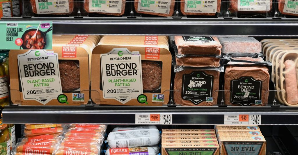 Plant-based meat sales in the US are up 264 p.c because March