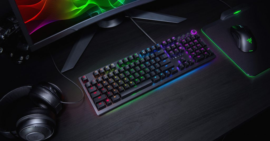Razer's Huntsman gaming keyboard contains the Mamba Elite mouse with purchase