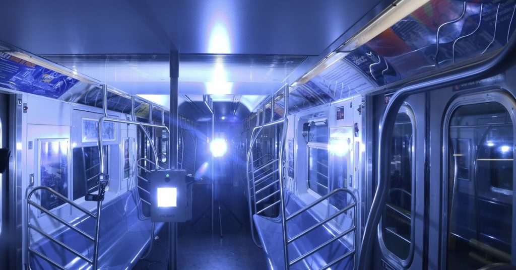 Right Here's how NYC is using powerful UV mild to kill the coronavirus on subways and buses