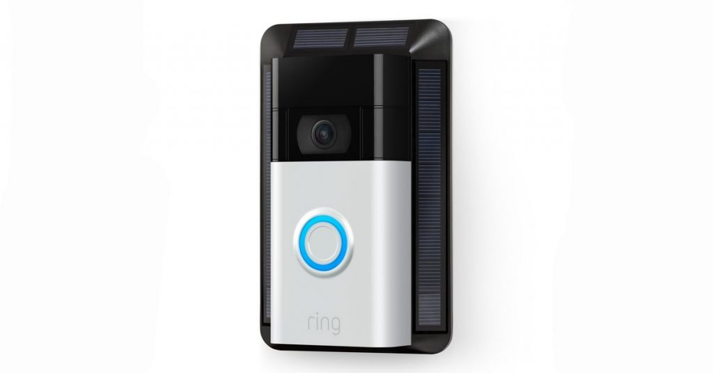 Ring improves $99.99 entry-stage doorbell, adds sun charger