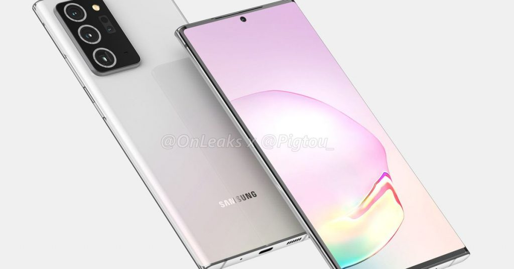 Samsung Galaxy Observe 20 Plus renders suggest a slightly larger screen and much bigger digital camera bump
