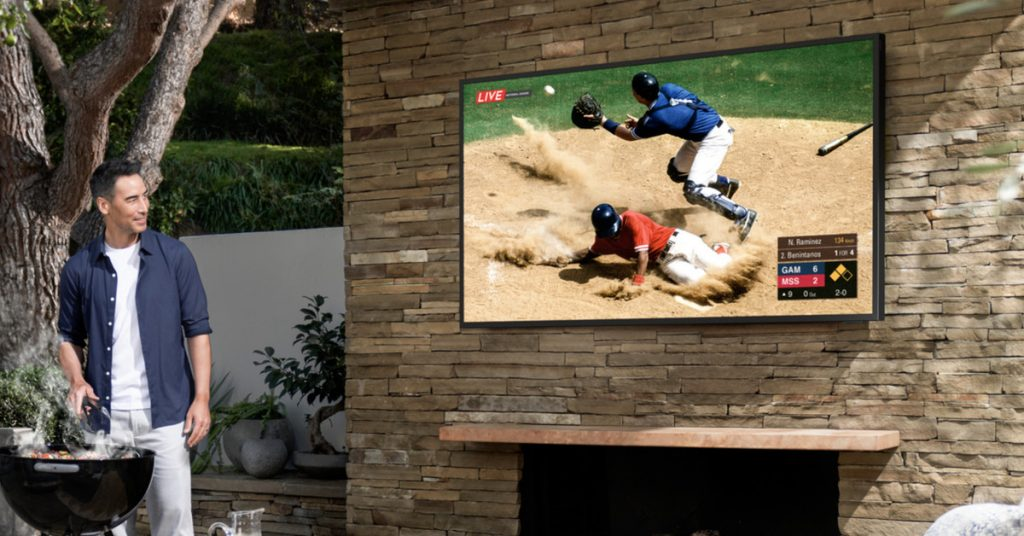 Samsung proclaims an outdoor 4K TV called the Terrace