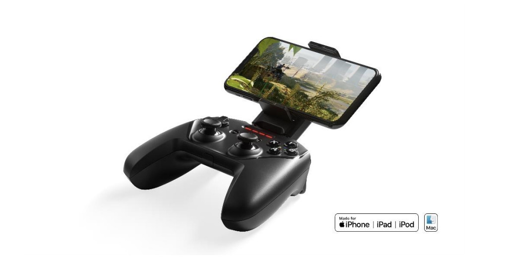 SteelSeries' new iOS gaming controller claims 50 hours of battery existence and higher buttons
