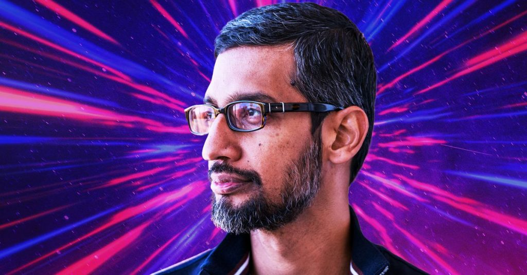 Sundar Pichai on coping with Google during the pandemic