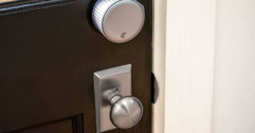 the brand new August Wi-Fi Smart Lock is much sleeker than the past model