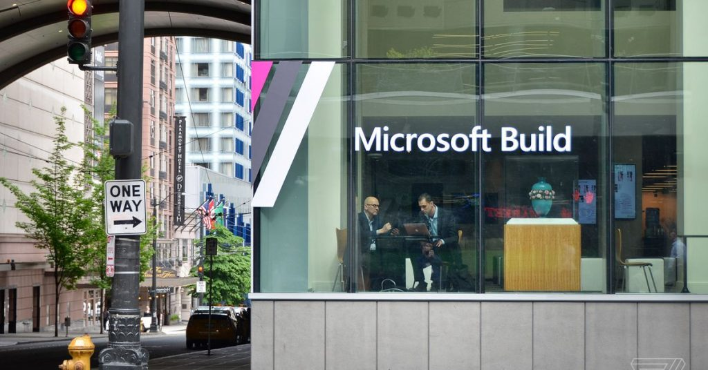 THE LARGEST announcements from Microsoft Construct 2020