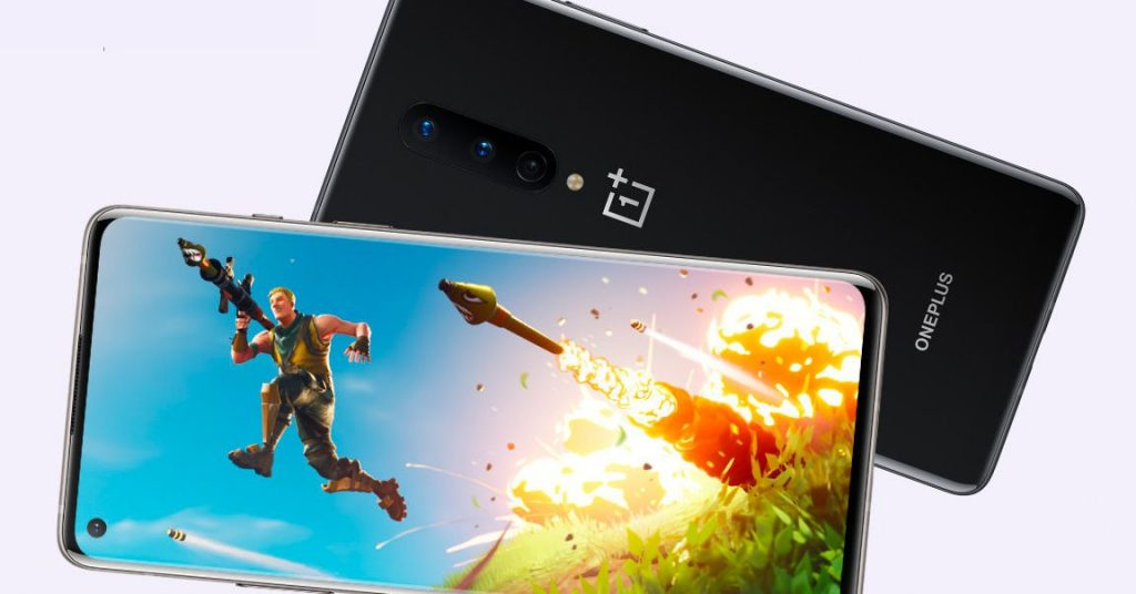 The OnePlus 8 can now run Fortnite at 90 frames according to 2d