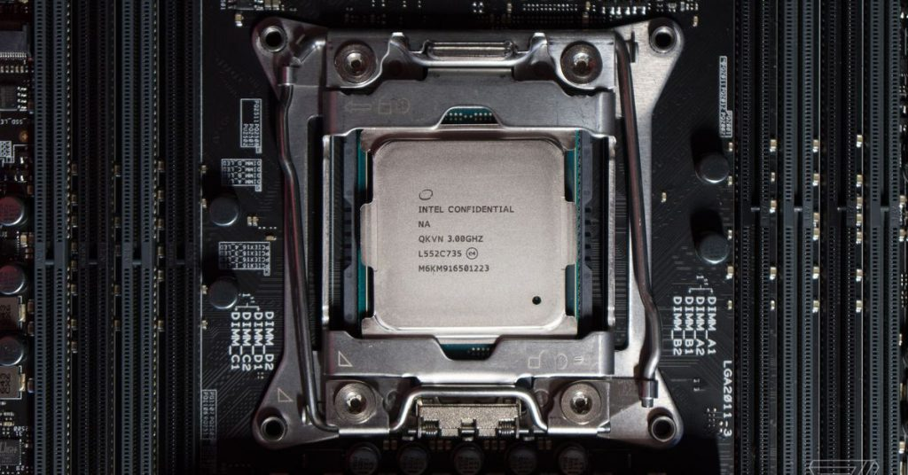 Trump and Intel are reportedly pushing for new processor factories within the US