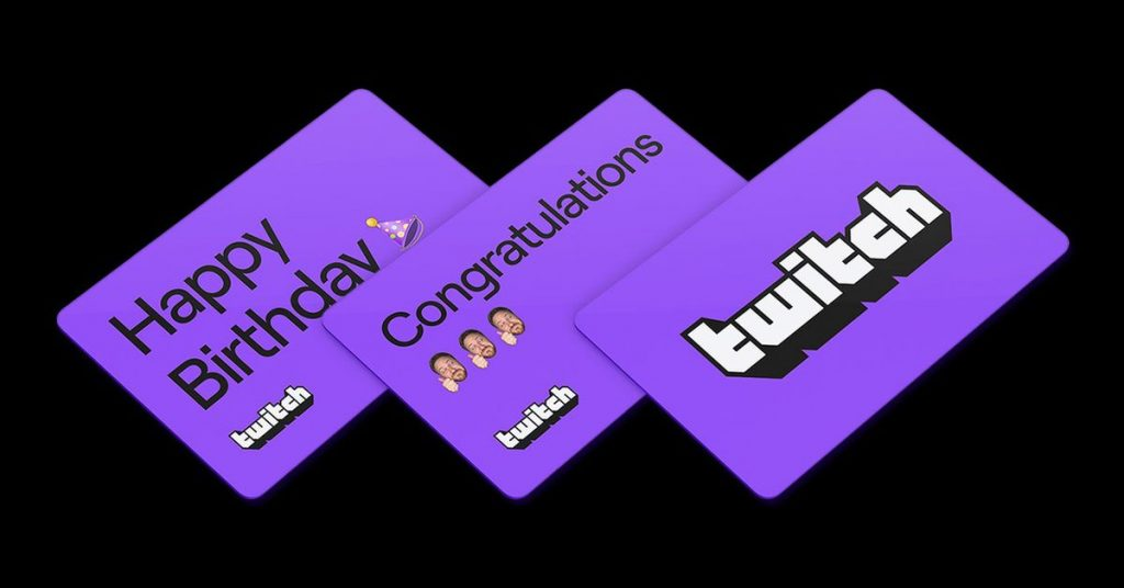 Twitch is now selling digital present playing cards