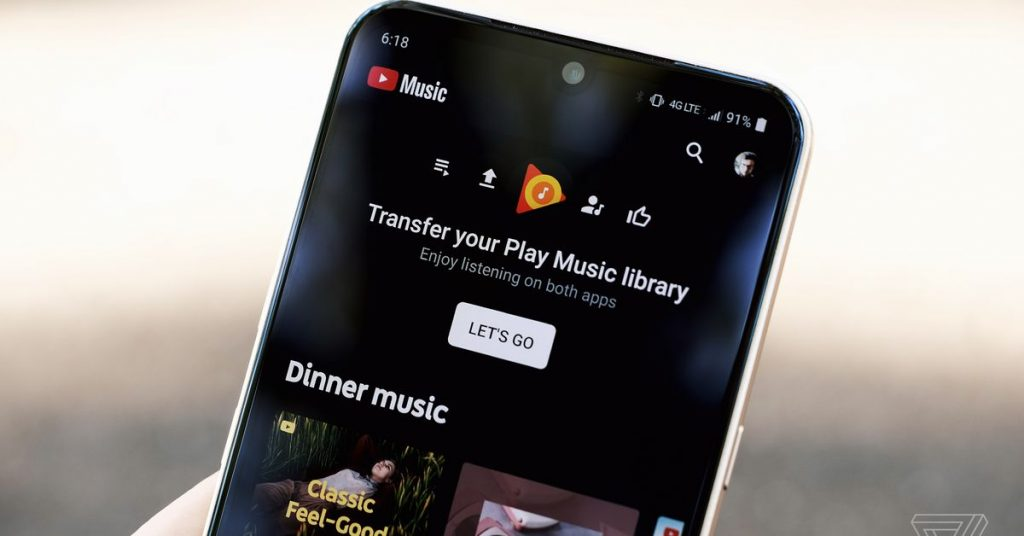 YouTube Tune can after all import your library and uploads from Google Play Tune