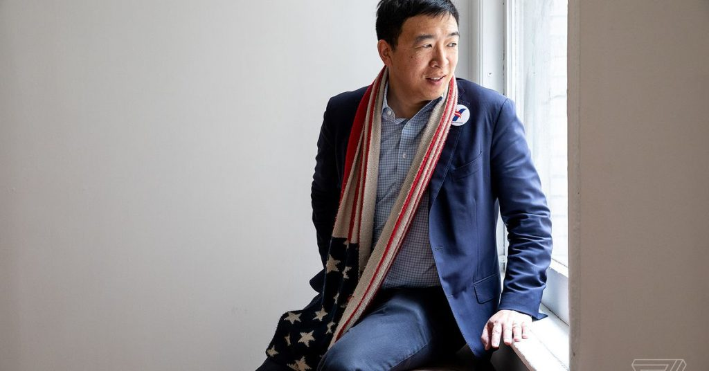 Andrew Yang is pushing Big Tech to pay users for data